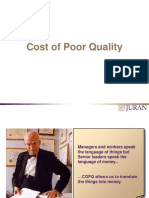 QA Cost of Poor Quality