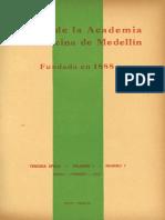 Salas de Espectáculos Públicas (Anales de la Academia de Medicina de Medellín)