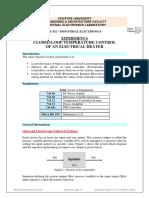 PID Temperature system