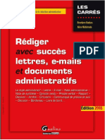 Rédiger avec succès - lettres, e-mails et documents administratifs - Edition 2016.pdf