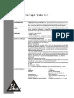Co-ht Barniz Transparente HR
