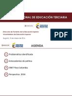 Sistema Nacional de Educación Terciaria - Colombia