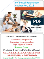 5. Prevention of Sexual Harassment at Workplace at Work Place Act, 2013 Gp2