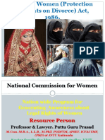 14. Muslim Women (Protection of Rights on Divorce) Act, 1986.Gp2