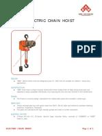 Electric Chain Hoist_Product Information_EN