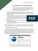 Website Browser Forensic
