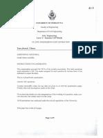 Bsc-Civil-Level 02- Semester 02-2008-2009- CE 2070 Engineering Cost Estimation