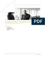 SAP HANA Database - SQL Reference Manual