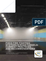 Fixed Fire Fighting in Road Tunnels Current Practices and Recommandations