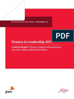 2017 Women in Leadership Report