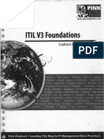 ITIL V3 Cuaderno de Trabajo - Pînk Elephant