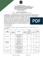 Edital 051 2017 DDP TAE 1ª Retificação