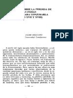 Vaticinio sobre la perdida de las Indias y planes para conjurarla ( Siglos XVII y XVIII).pdf
