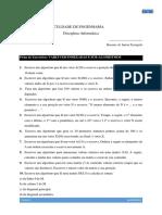 P5 Exercícios Vectores Subprogramas