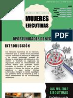 Mujeres Ejecutivas Mercado Desatendido