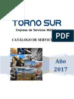 TORNO SUR Catálogo de Servicios