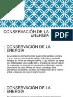 Anthony Conservación de La Energía