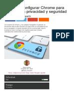 Cómo Configurar Chrome Para Mejorar La Privacidad y Seguridad - ComputerHoy