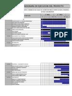 Cronograma de Ejecucion de Obra _modelo