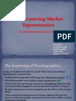 Rediscovering Market Segmentation