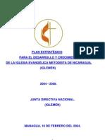 Plan-estrategico-2004-2008 Iglesia Metodista de Nicaragua