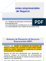ERP, CMR Y SCM