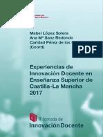 II Jorandasl Experiencias de Innovacion Docente en Enseñanza Superior de Castilla-La Mancha 2017