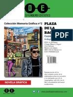 Avance Plaza de La Bacala Desfiladero Ediciones