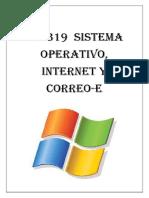 Uf0319 Sistema Operativo, Internet y Correo-e.