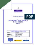Proyecto OBR 09 062 España