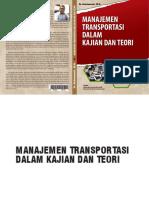Manajemen Transportasi Dalam Kajian Dan Teori Oleh Dr. Andriansyah. M.si