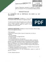 Keiko Fujimori - Proyecto de ley sobre la pena de muerte