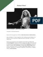 Biografia de Robert Plant