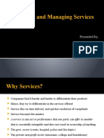 Managing and Designing Services