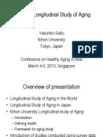 05 Yasuhiko Saito Japanese Longitudinal Study of Aging