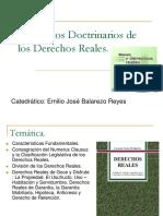 Conceptos Doctrinarios de Los Derechos Reales