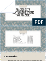 Reaktor Cstr