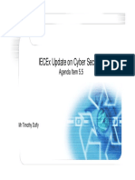 IECEx Cyber Security Update 2016