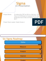 Six Sigma Report.ppt