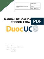 Manual de Calidad Iso9001