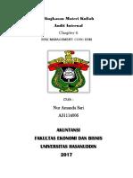 RMK Audit Internal BAB 6_COSO ERM_Nur Amanda Sari (A31114006)