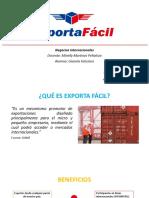 Exporta Fácil - Gianela Feliciano