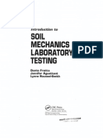 Introduction to Soil Mechanics Laboratory Testing
