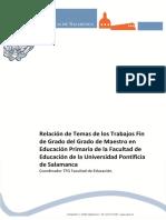 01. Temas TFG Primaria