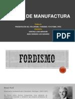Tipos de Sistemas de manufactura