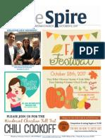 The Spire Newsletter, October 10, 2017