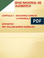4º LAMINA SECCIONES CONICAS LA PARABOLA.pptx