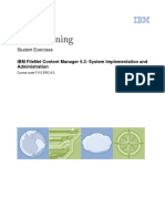 IBM Training Filenet CM 5-2 Implementation and Administration - Excercises.pdf