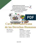 Trabajo Carta Interamericana Albani