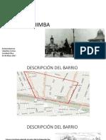 ANALISIS BARRIO LA CHIMBA ARQUITECTURA